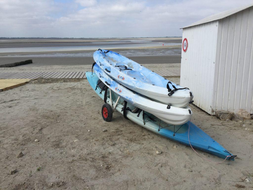 activité kayak en Baie de somme location paddle