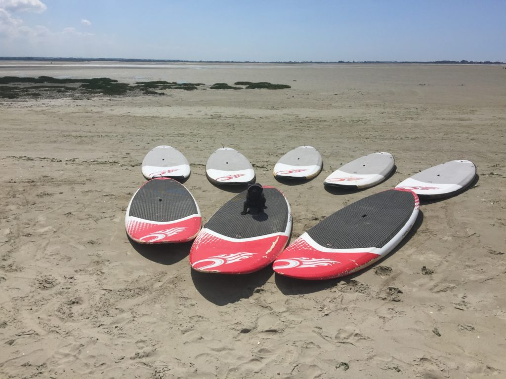 paddle en location avec mabaiedesomme au Crotoy