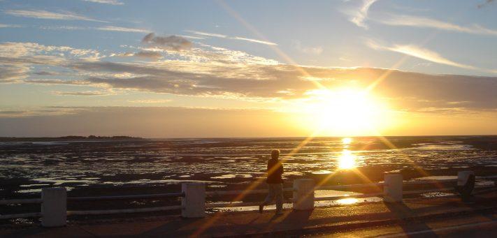 magnifiques couchers de soleil sur le Hourdel du Crotoy en Baie de Somme